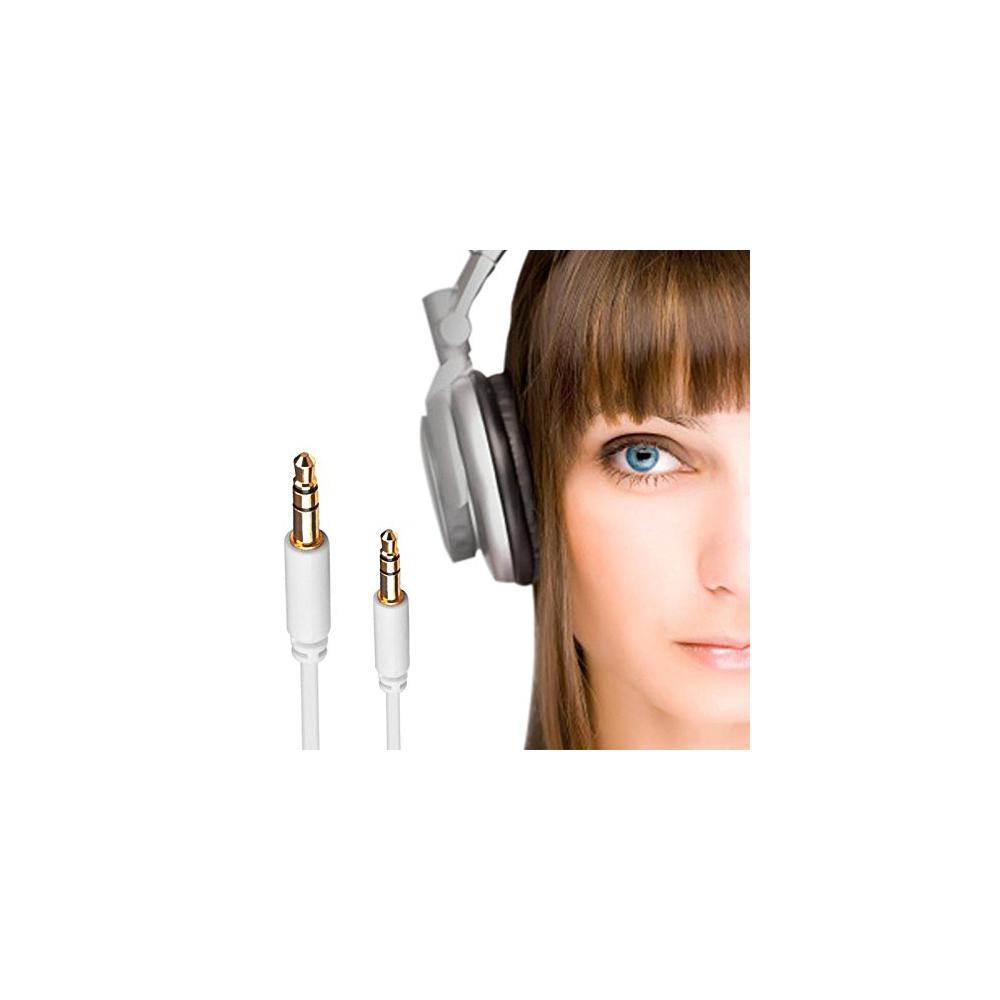 Ligawo 6535132 Klinken Kabel Stereo 3,5mm Stecker/Stecker 3polig (1,5m) weiß – Bild 4