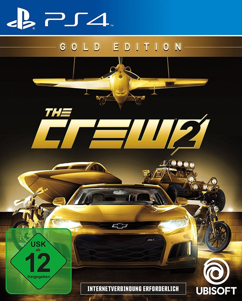 Crew 2 PS-4 GOLD Edition