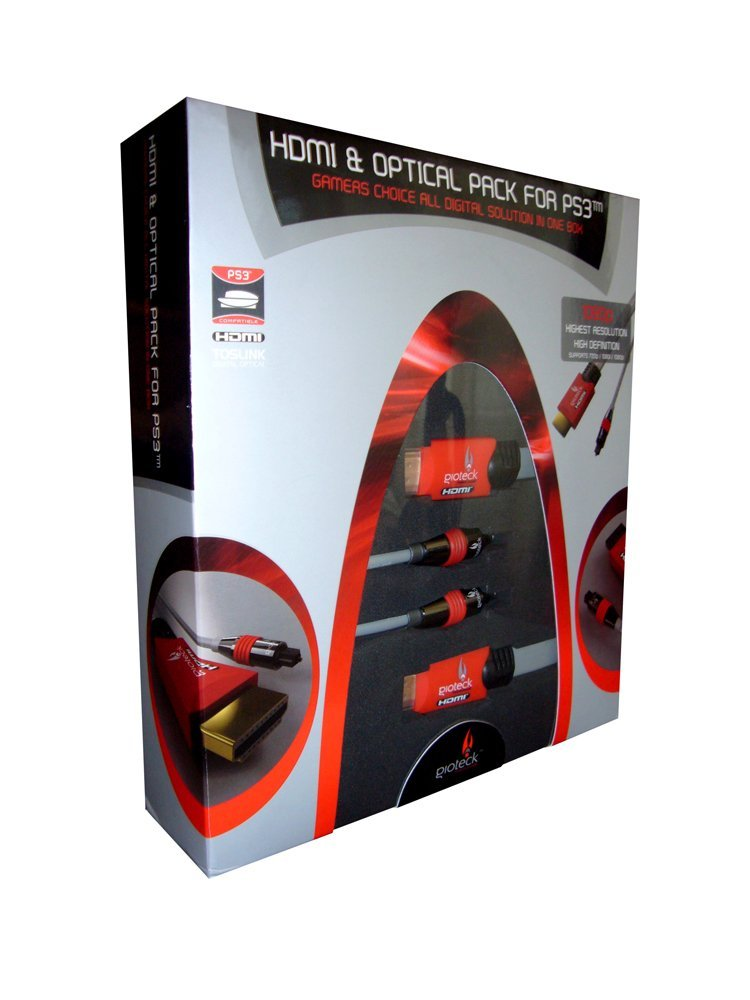 PS3 HDMI & Optical Pack