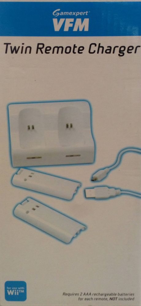 A4T Wii Twin Remote Charger