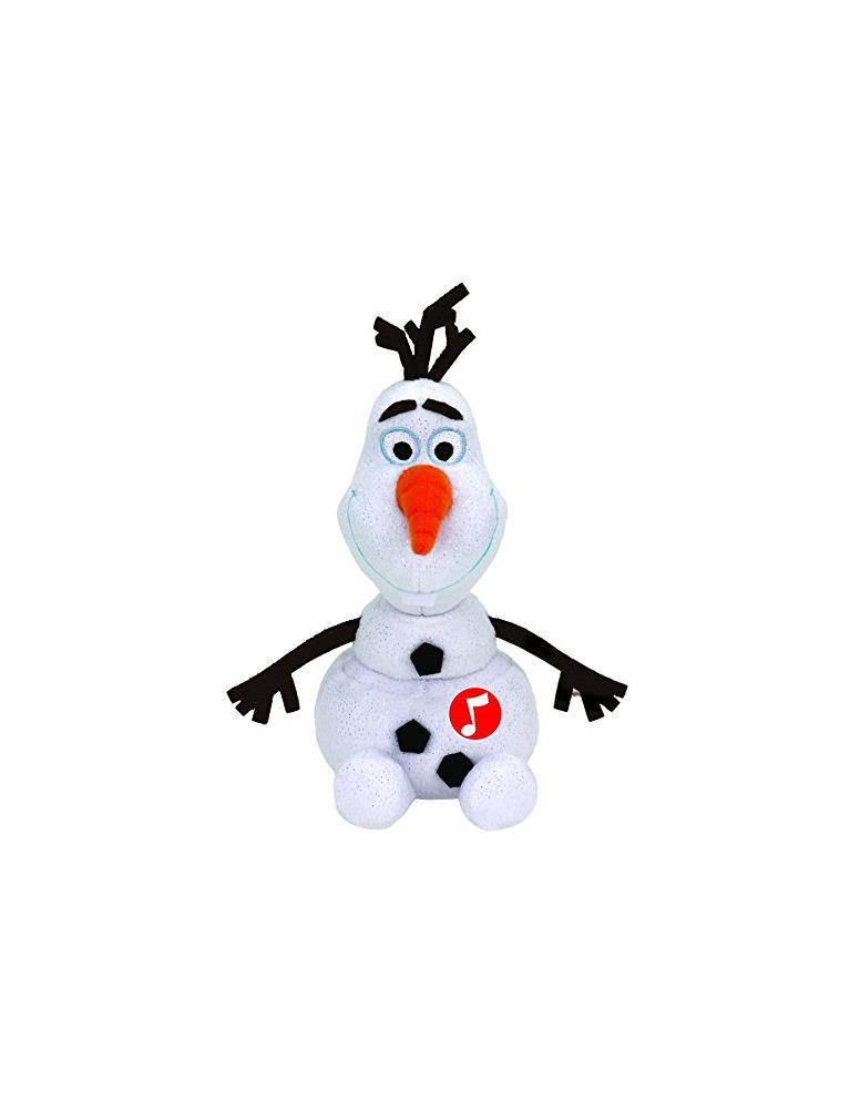 Beanie Babies - Disney Frozen: Olaf + Sound 20 cm