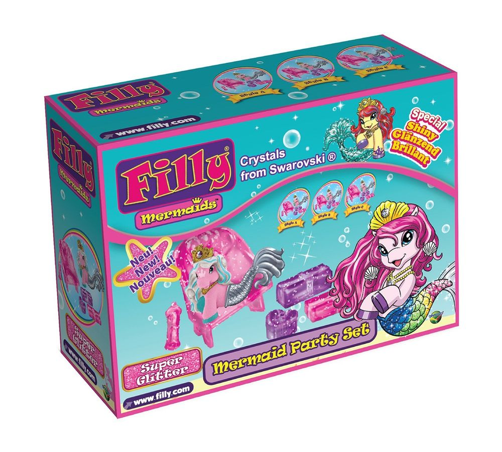 Filly Mermaids Party-Set