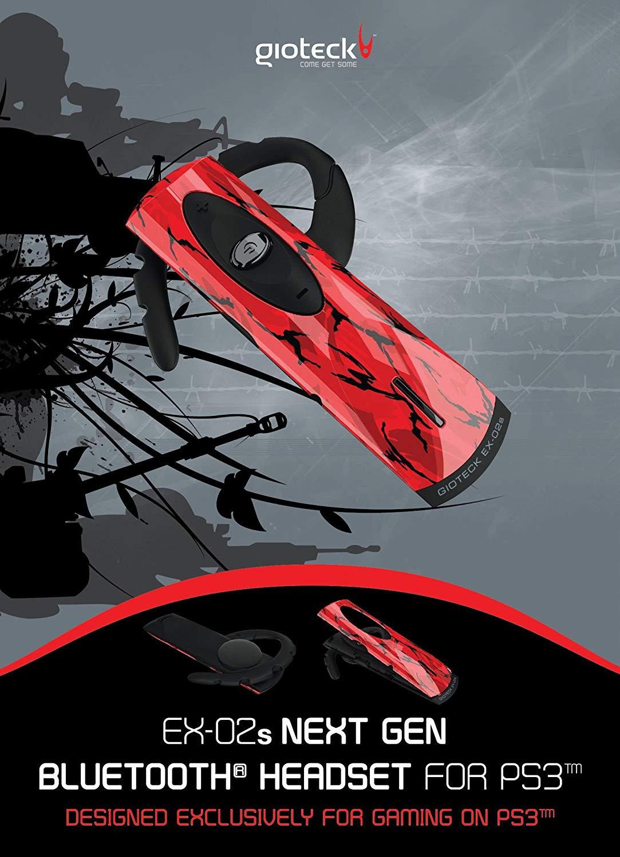 Gioteck - EX-02 Bluetooth Headset (gebraucht)