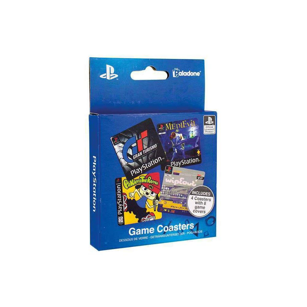 PlayStation Untersetzer 4er-Pack Game Cover