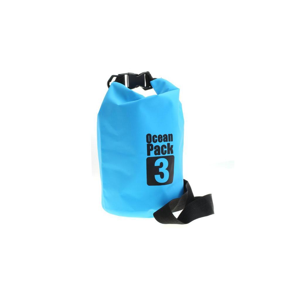 OTB PVC-Tasche / Ocean Pack / Outdoor Tasche / Dry Bag - 3L - blau