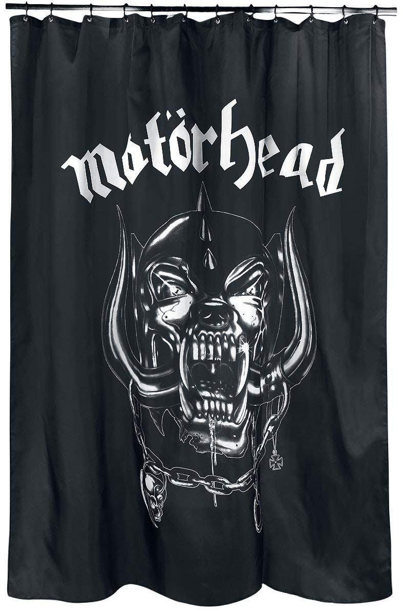 Klang Und Kleid Duschvorhang Motörhead Warpig Logo