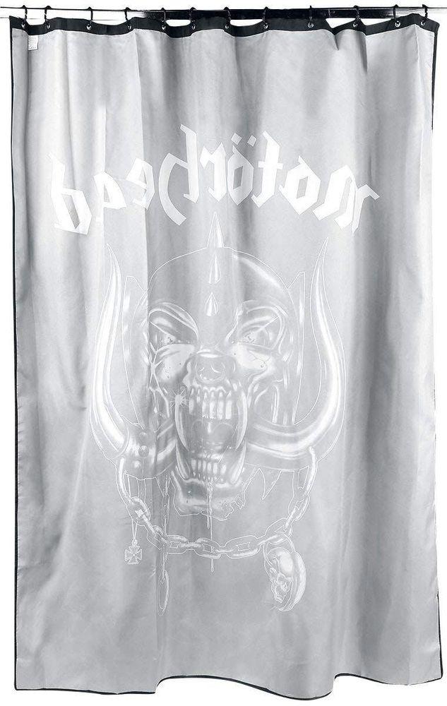 Klang Und Kleid Duschvorhang Motörhead Warpig Logo – Bild 2