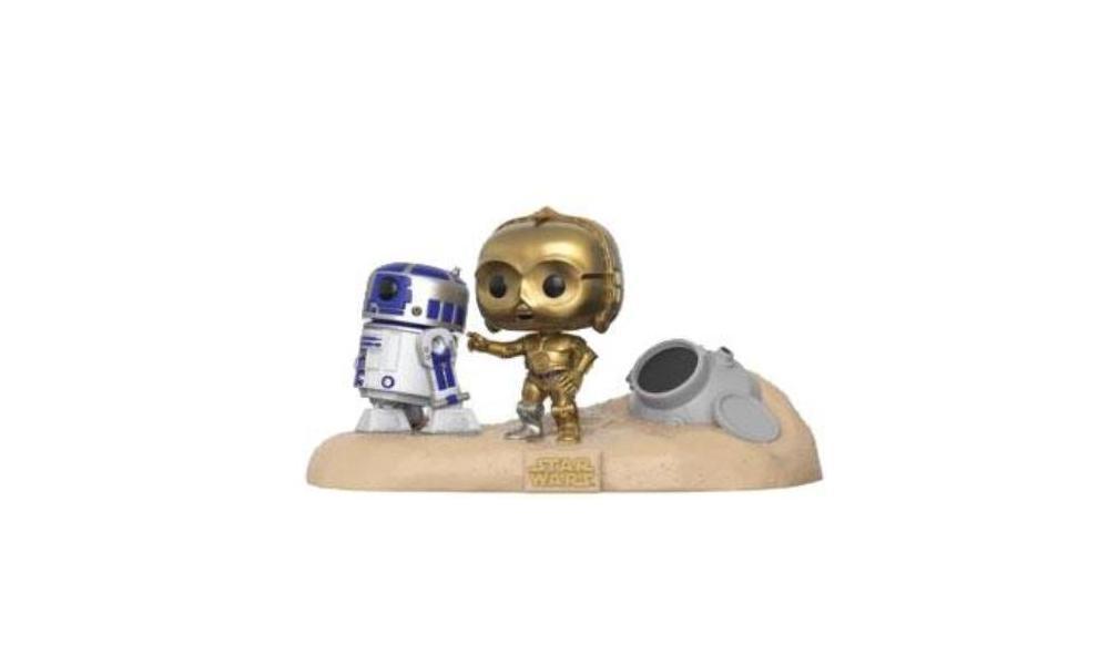 Funko Pop - Star Wars - Doppelpack C3-PO und R2D2 9cm