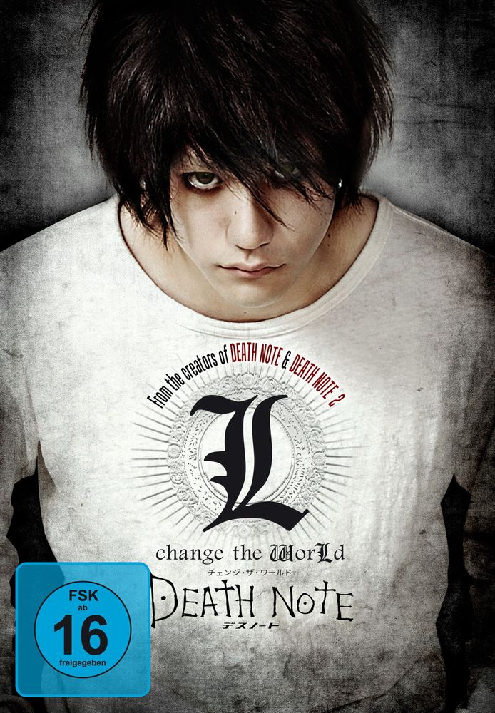 Death Note: L Change the World (Limited Edition, 2 Discs, Mediabook)