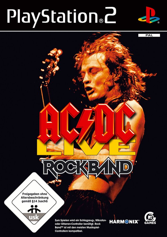 AC/DC Live: Rock Band Song Pack