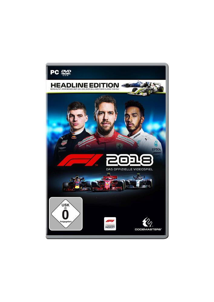 F1 2018 Headline Edition (PC) (USK)