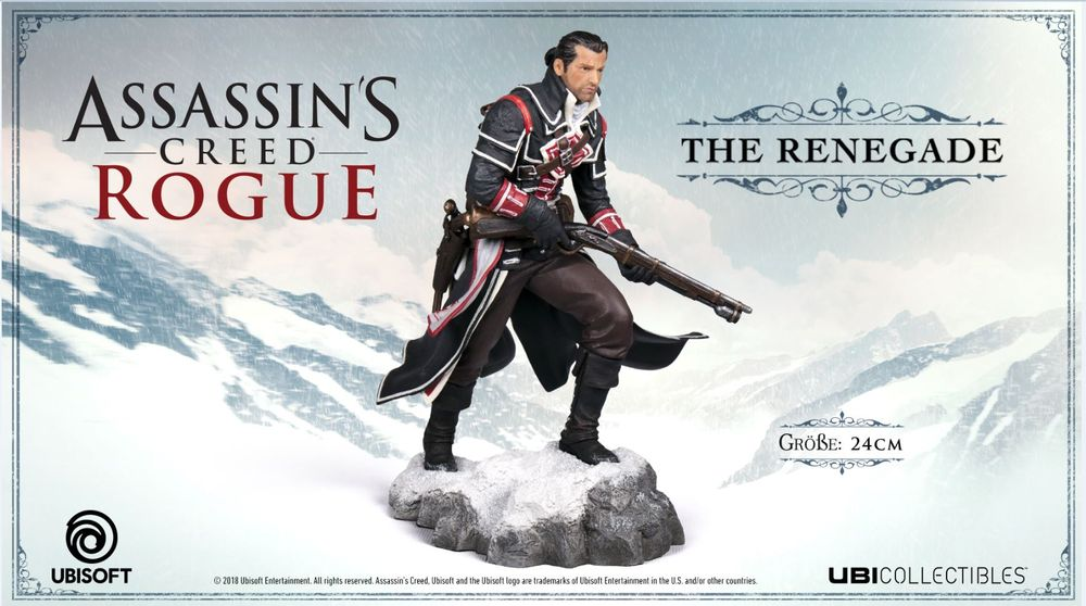 Assassin's Creed Rogue - The Renegade Shay 24 cm