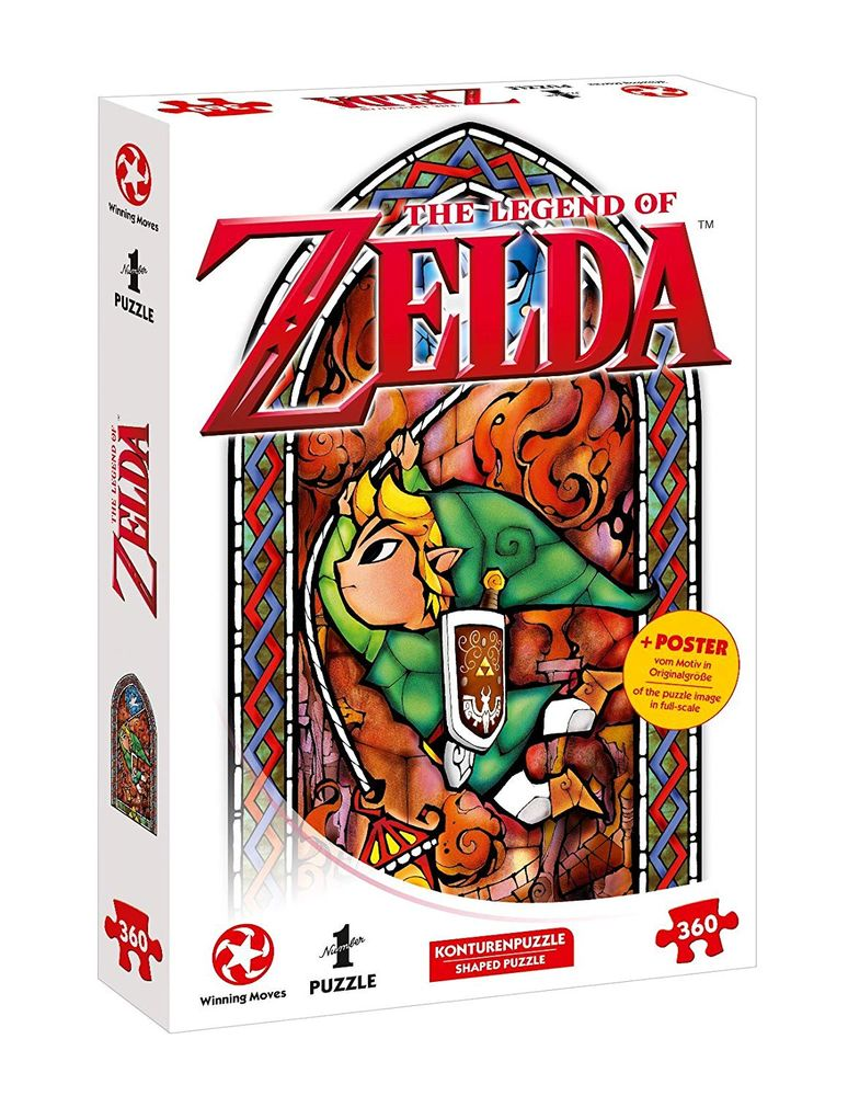 Puzzle: Zelda Link-Adventurer, 360 pc