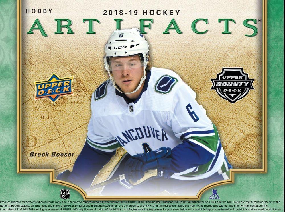2018-19 NHL Artifacts
