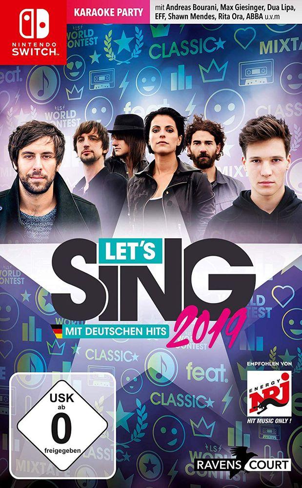 Let's Sing 2019 mit deutschen Hits (Switch) (USK)