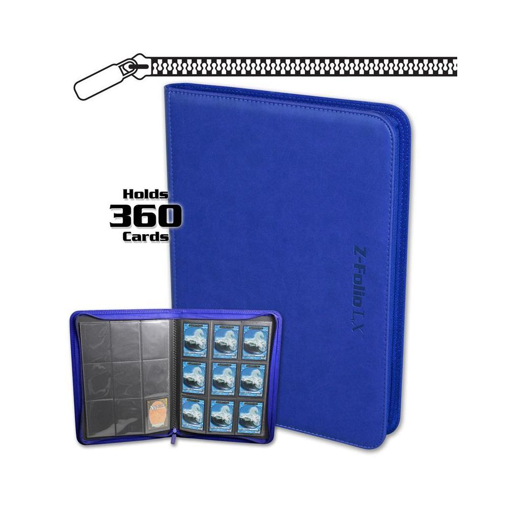 BCW Z-Folio 9-Pocket LX Portfolio Blue