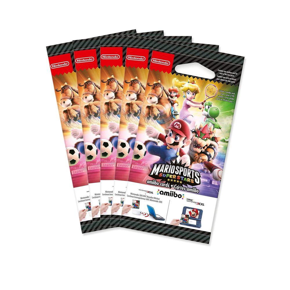 5x Amiibo-Karten Mario Sports Superstars 5 Stück