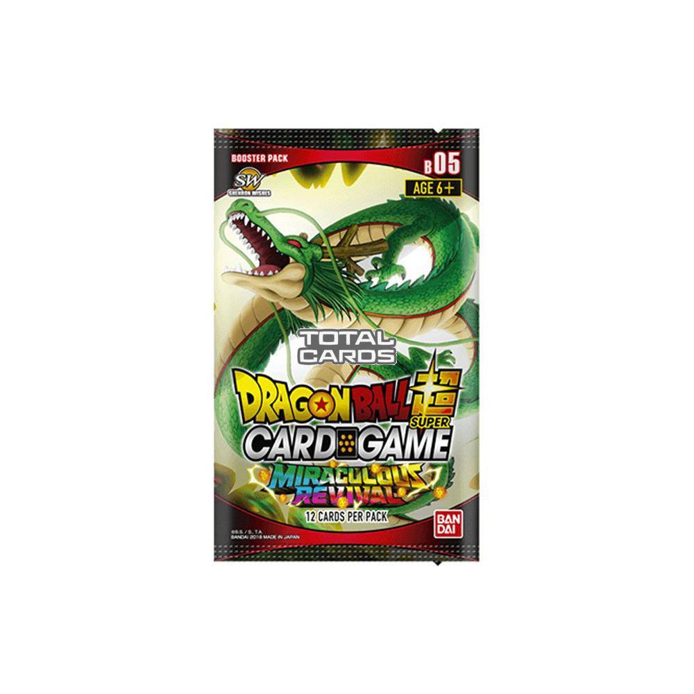 Dragonball Super - Miraculous Revival Booster EN