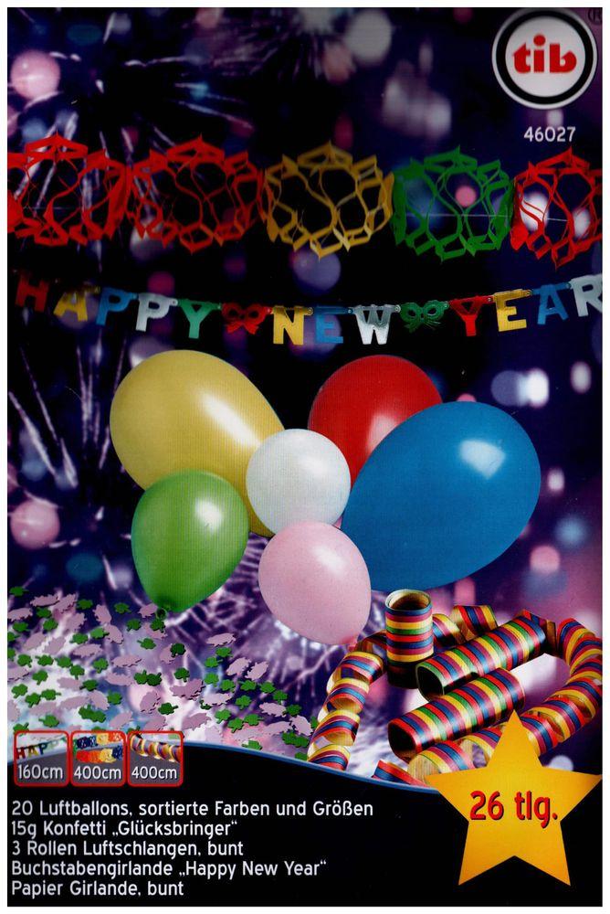 Tib Heyne 46027 Partyset Silvester