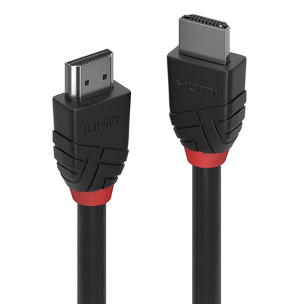 Lindy 36473 3m High Speed HDMI Kabel, Black Line – Bild 1