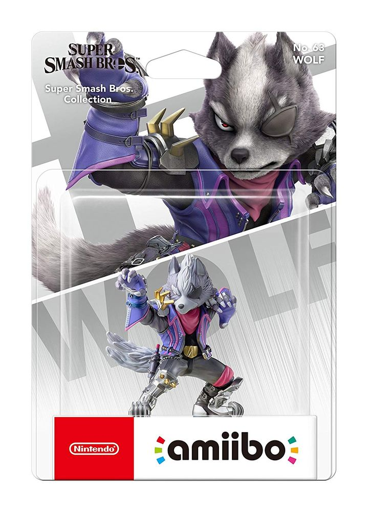 Amiibo Super Smash Wolf Super Smash Bros. Collection – Bild 2