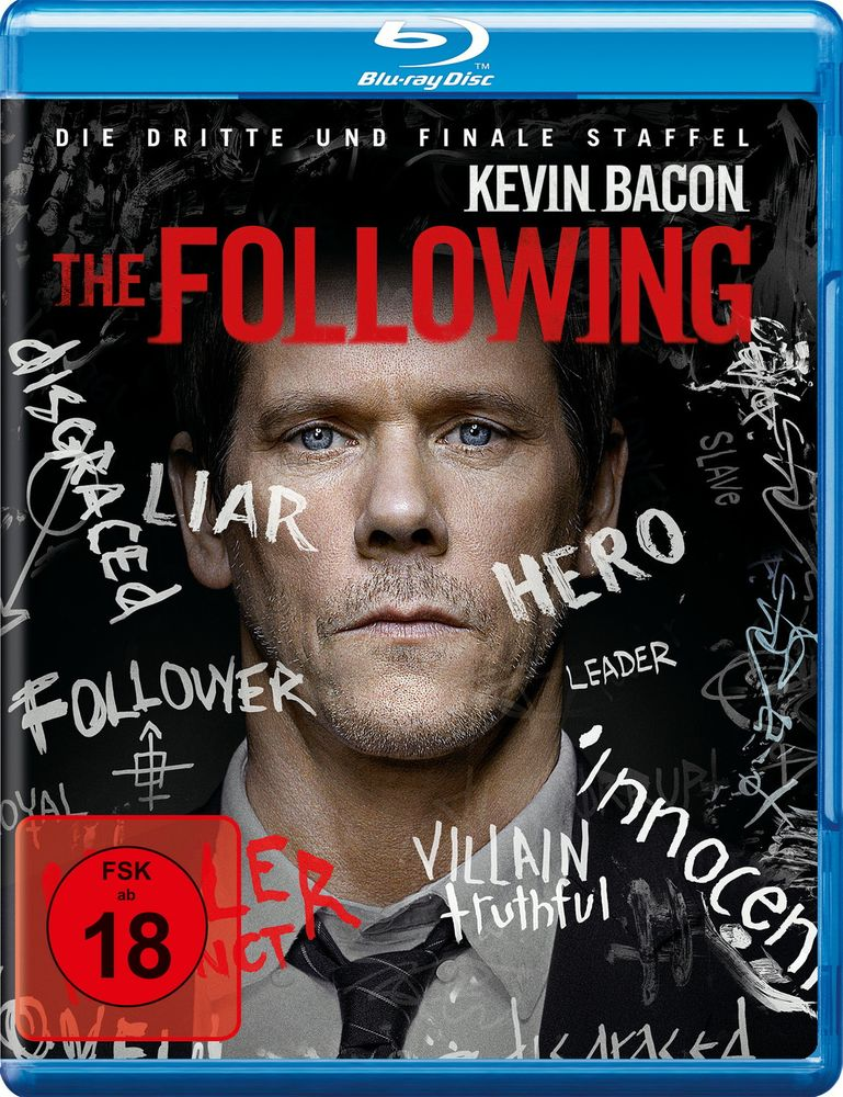 The Following - Die komplette dritte Staffel (3 Discs)