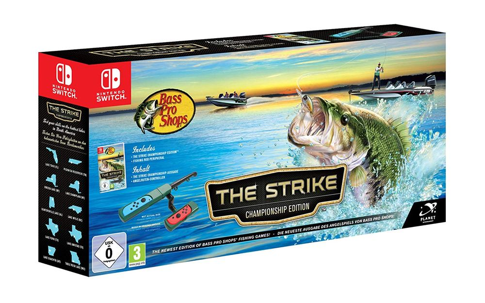 Bass Pro Shops: The Strike inkl. Angel-Controller