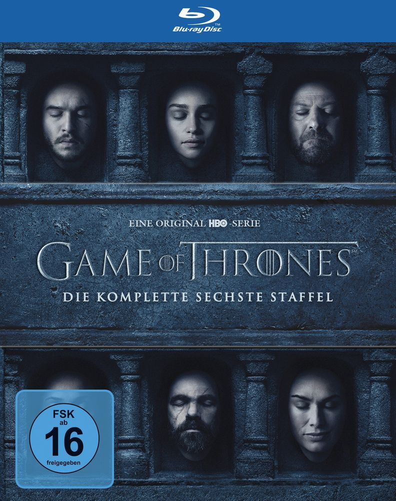Game of Thrones - Die komplette sechste Staffel (4 Discs)