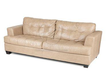 Leder-Sofa »San Jose« braun – Bild 2