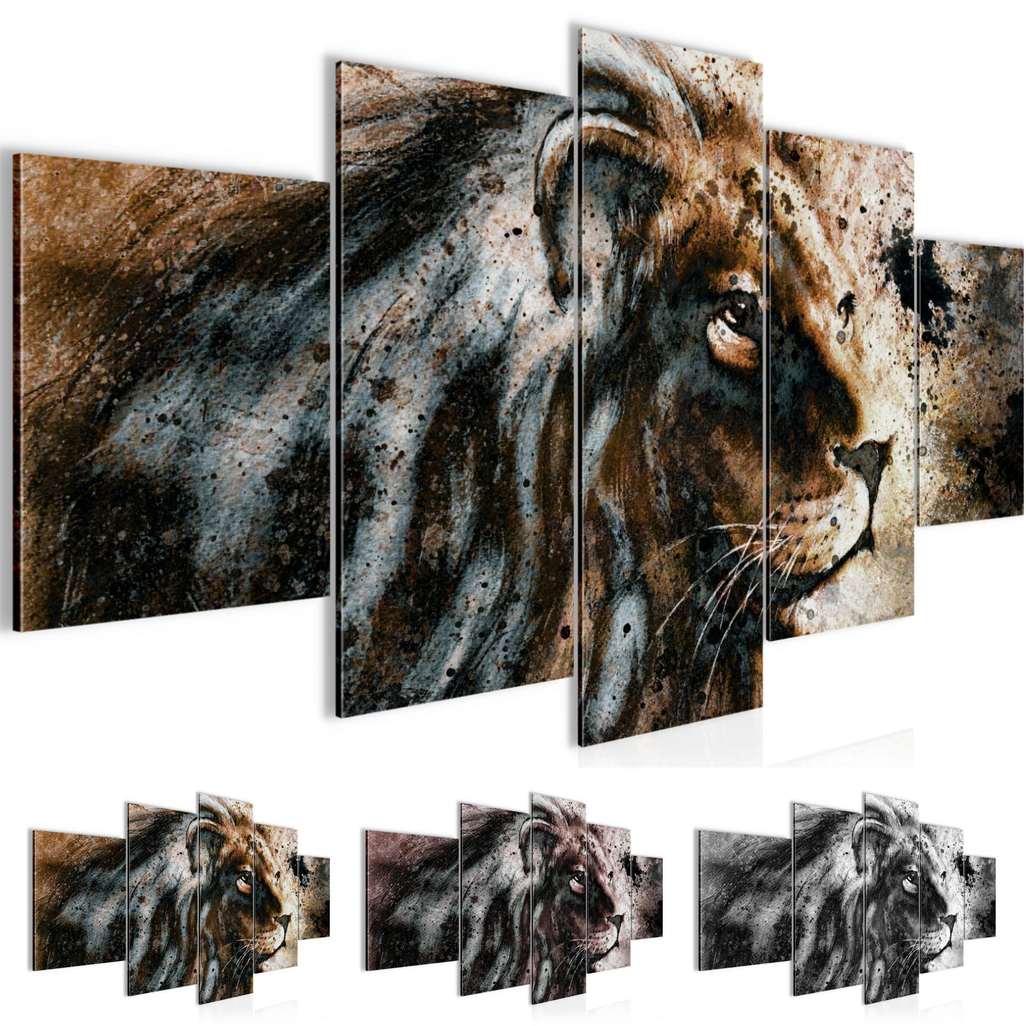 Afrika l we bild kunstdruck auf vlies leinwand xxl dekoration 00225p - Dekoration afrika ...
