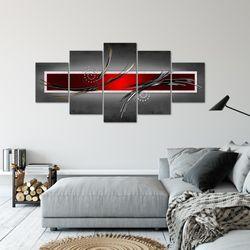 Abstrakt BILD KUNSTDRUCK  - AUF VLIES LEINWAND - XXL DEKORATION  10255P  Bild 6