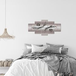 Abstrakt BILD KUNSTDRUCK  - AUF VLIES LEINWAND - XXL DEKORATION  10475P  Bild 7