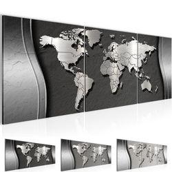 Weltkarte World map BILD KUNSTDRUCK  - AUF VLIES LEINWAND - XXL DEKORATION  107234P  Bild 1