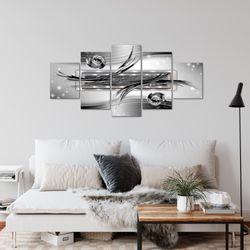 Abstrakt BILD KUNSTDRUCK  - AUF VLIES LEINWAND - XXL DEKORATION  10845P  Bild 4