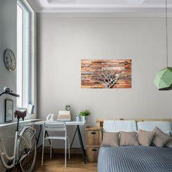 Abstrakt Baum BILD KUNSTDRUCK  - AUF VLIES LEINWAND - XXL DEKORATION  108914P  Bild 7