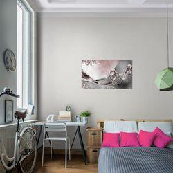 Abstrakt BILD KUNSTDRUCK  - AUF VLIES LEINWAND - XXL DEKORATION  109114P  Bild 7