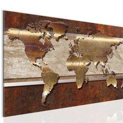 Weltkarte World map BILD KUNSTDRUCK  - AUF VLIES LEINWAND - XXL DEKORATION  10671P  Bild 2