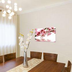 Sakura Blumen BILD KUNSTDRUCK  - AUF VLIES LEINWAND - XXL DEKORATION  20021P  Bild 4