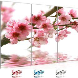 Sakura Blumen BILD KUNSTDRUCK  - AUF VLIES LEINWAND - XXL DEKORATION  200231P  Bild 1