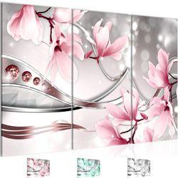 Blumen Magnolia BILD KUNSTDRUCK  - AUF VLIES LEINWAND - XXL DEKORATION  202431P  Bild 1