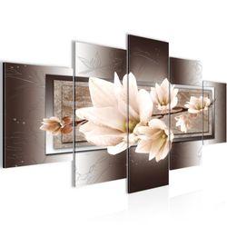 Blumen Magnolien BILD KUNSTDRUCK  - AUF VLIES LEINWAND - XXL DEKORATION  20575P  Bild 2