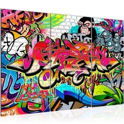 Graffiti Street Art BILD KUNSTDRUCK  - AUF VLIES LEINWAND - XXL DEKORATION  401731P  Bild 2