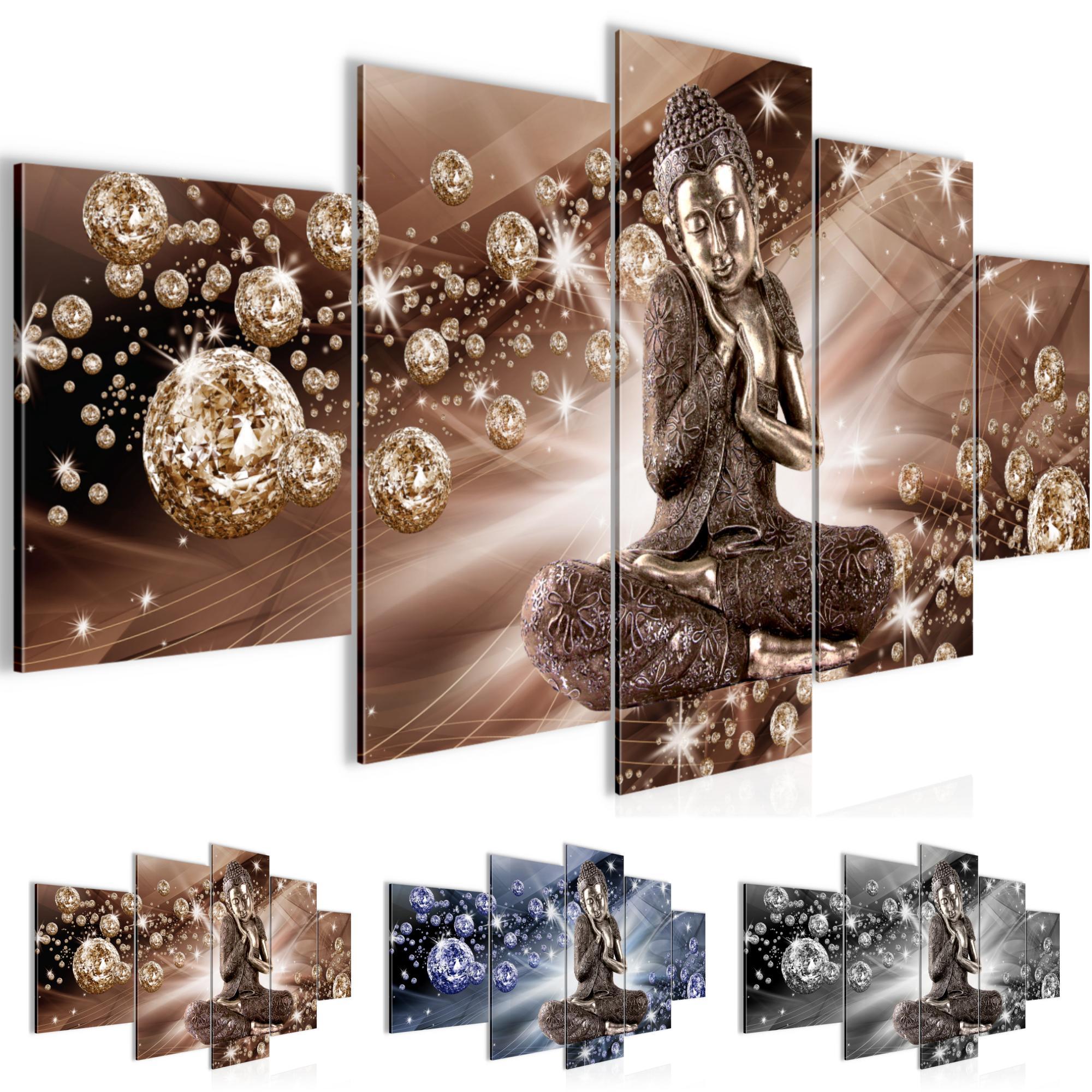 Buddha Feng Shui Bild Kunstdruck Auf Vlies Leinwand Xxl