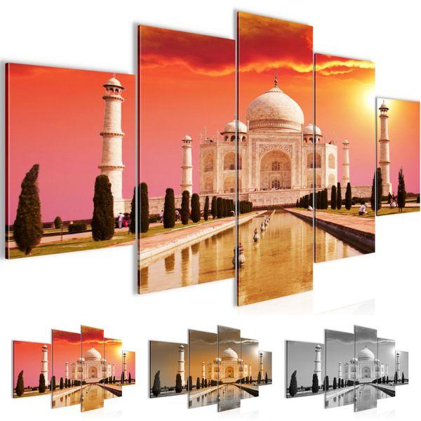 Taj Mahal Indien BILD KUNSTDRUCK  - AUF VLIES LEINWAND - XXL DEKORATION  60055P