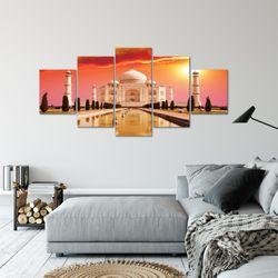 Taj Mahal Indien BILD KUNSTDRUCK  - AUF VLIES LEINWAND - XXL DEKORATION  60055P  Bild 6
