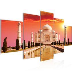 Taj Mahal Indien BILD KUNSTDRUCK  - AUF VLIES LEINWAND - XXL DEKORATION  60055P  Bild 2