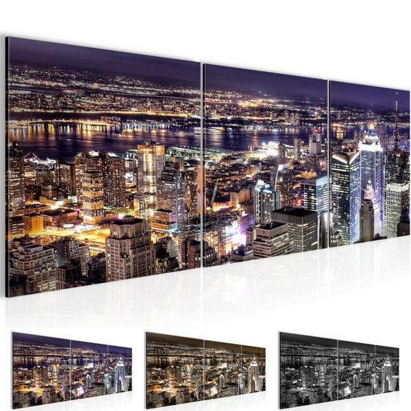New York City BILD KUNSTDRUCK  - AUF VLIES LEINWAND - XXL DEKORATION  600634P