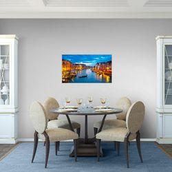 Venedig Italien BILD KUNSTDRUCK  - AUF VLIES LEINWAND - XXL DEKORATION  604314P  Bild 6