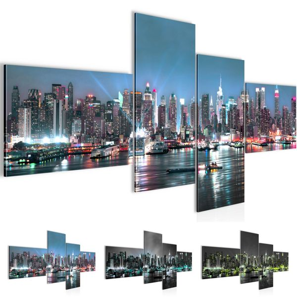 New York City BILD KUNSTDRUCK  - AUF VLIES LEINWAND - XXL DEKORATION  60544P