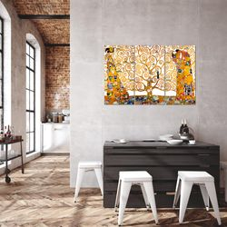 Gustav Klimt - Tree of Life BILD KUNSTDRUCK  - AUF VLIES LEINWAND - XXL DEKORATION  700031P  Bild 5